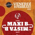 Maxi B + Dj Mista B live @Rozzano