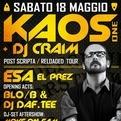 Kaos one + Dj Craim + Esa el prez + Blo/b + Dj Daf.tee live @Padova