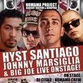 Hyst + Santiago + Johnny Marsiglia + BigJoe live @ Milano